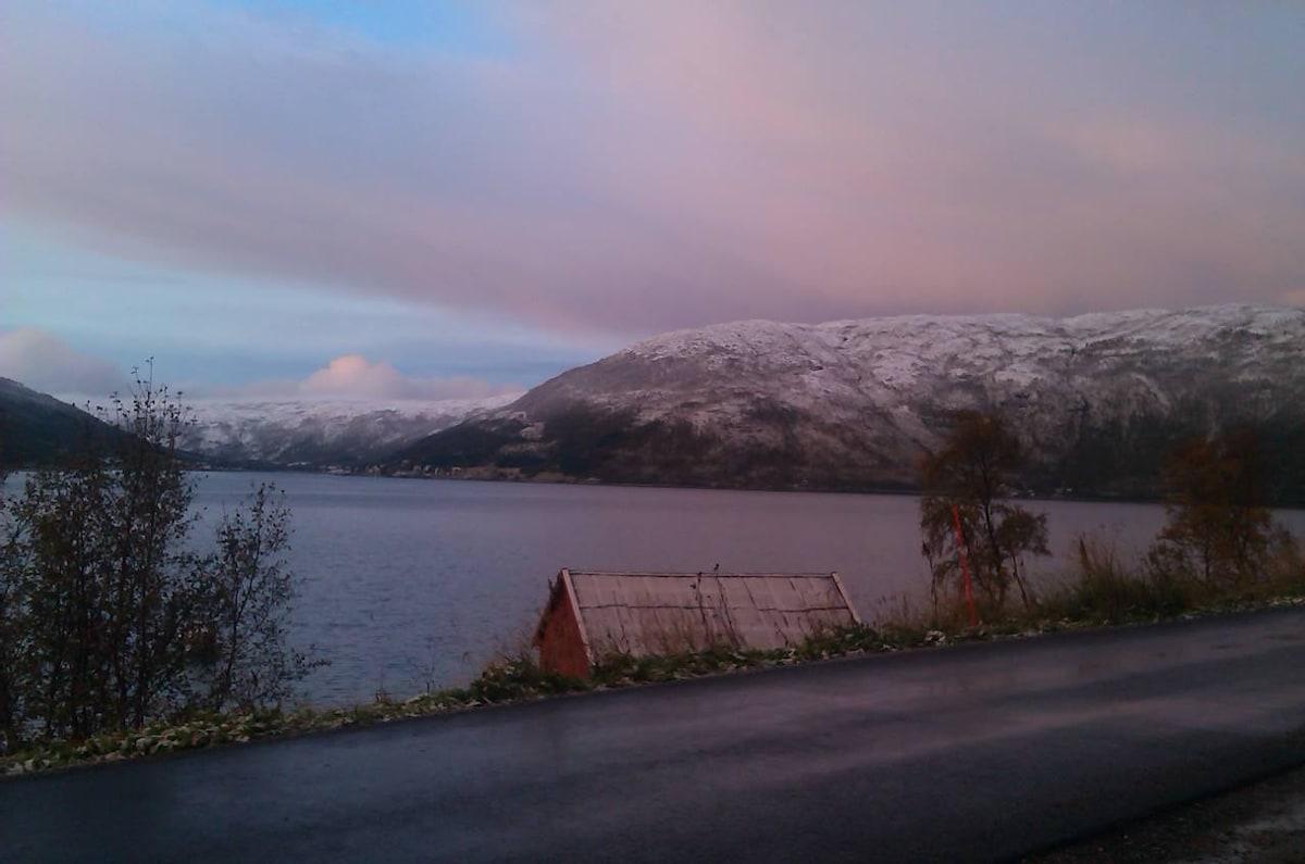 Privat rom i naturskjønne Kattfjord
