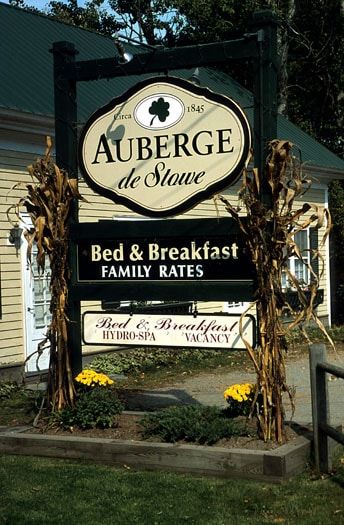 Affordable B&B in Stowe, Vermont