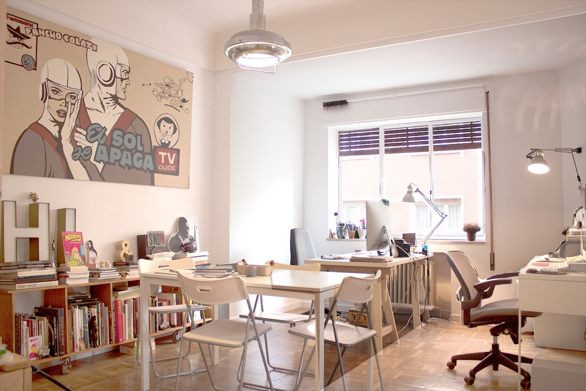 living, sitting & dinning room