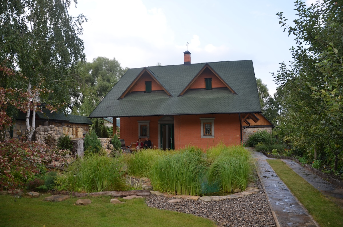 Family home in pristine nature