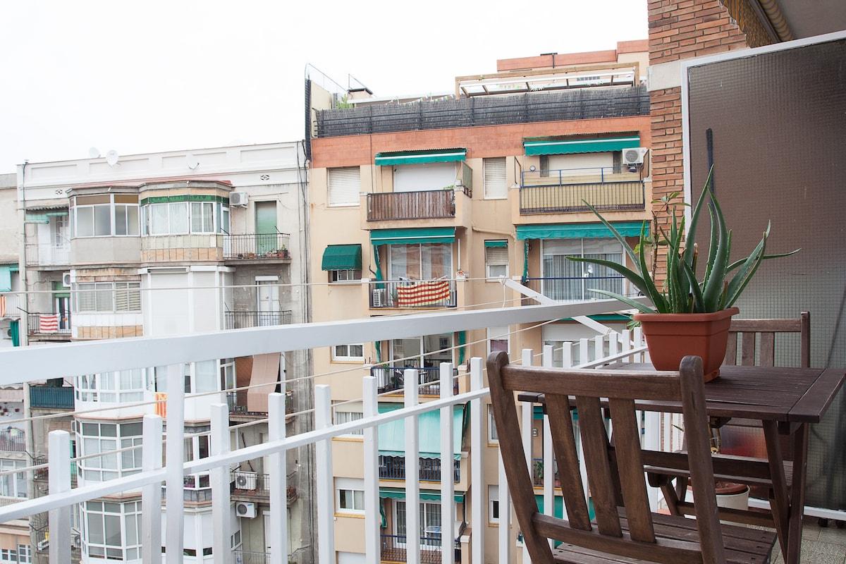 Nice flat in Sant Antoni- Center
