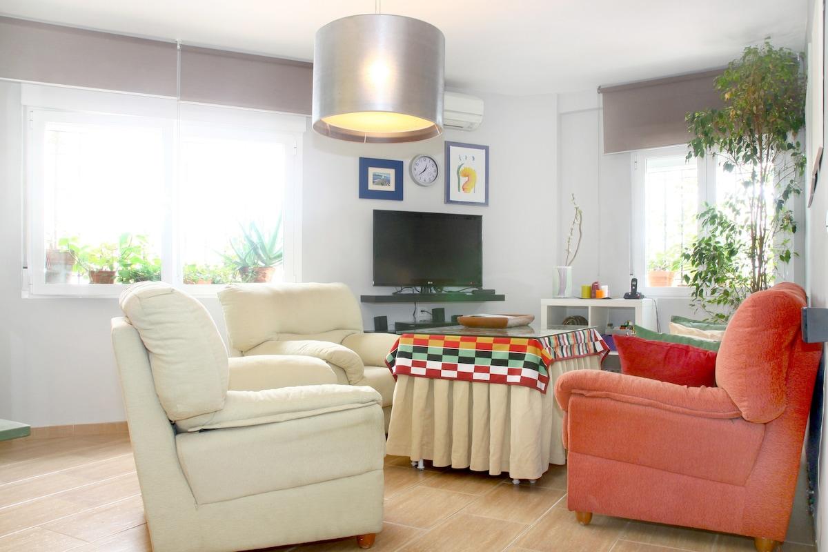 Apartamento céntrico con párking