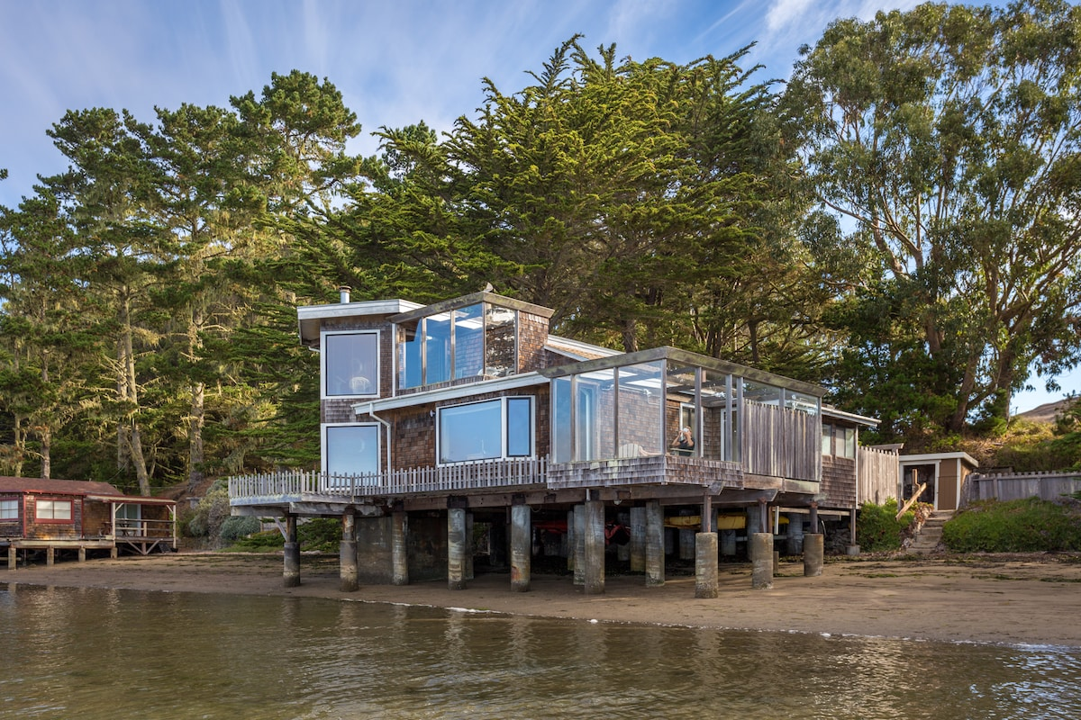 Ben's House on Tomales Bay!