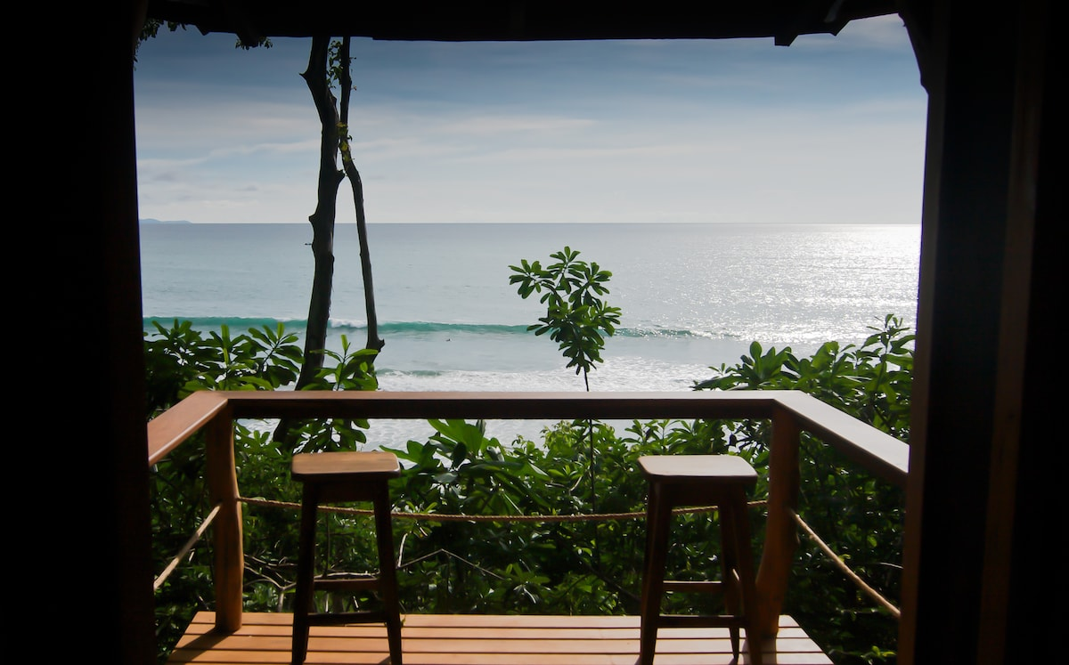 The view from El Nido bungalow
