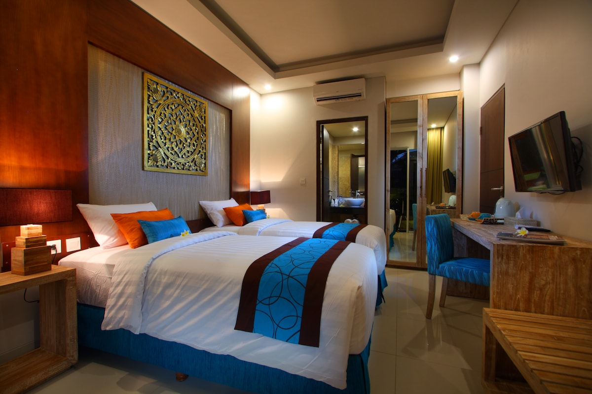 Room for stay at Central Seminyak