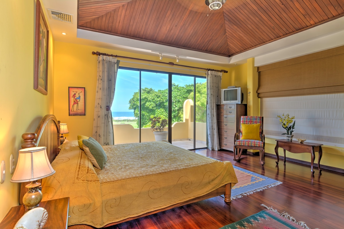 Master bedroom with private bath,second floor