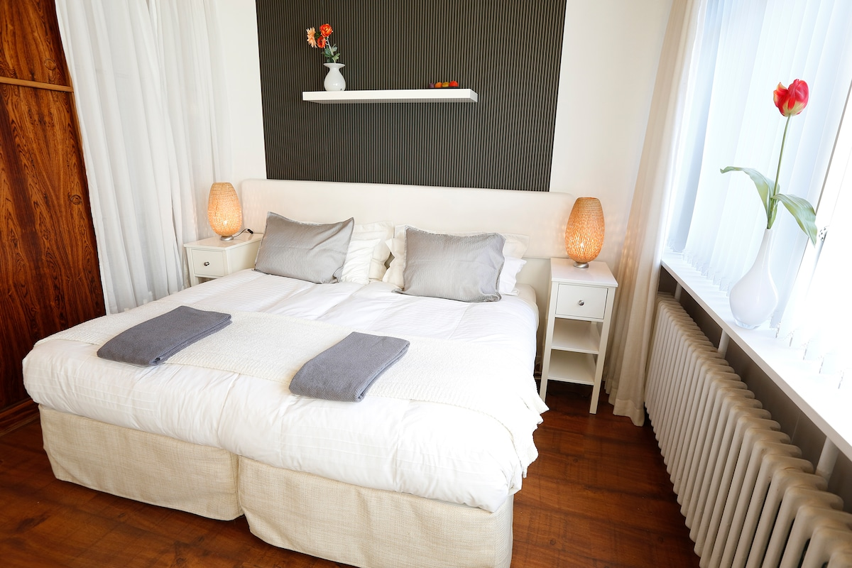 Double room can also be two singles