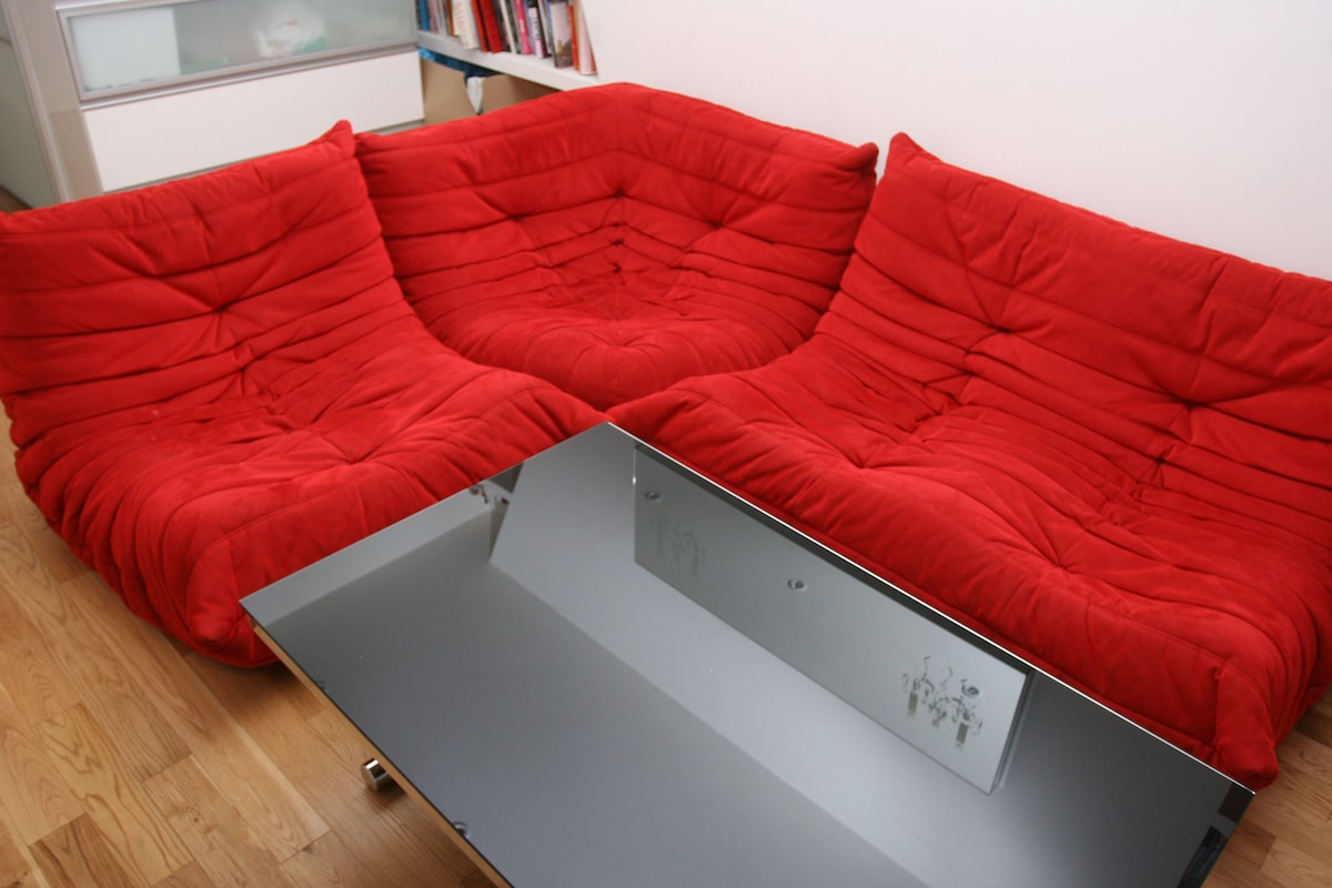 The living-room -coffee table