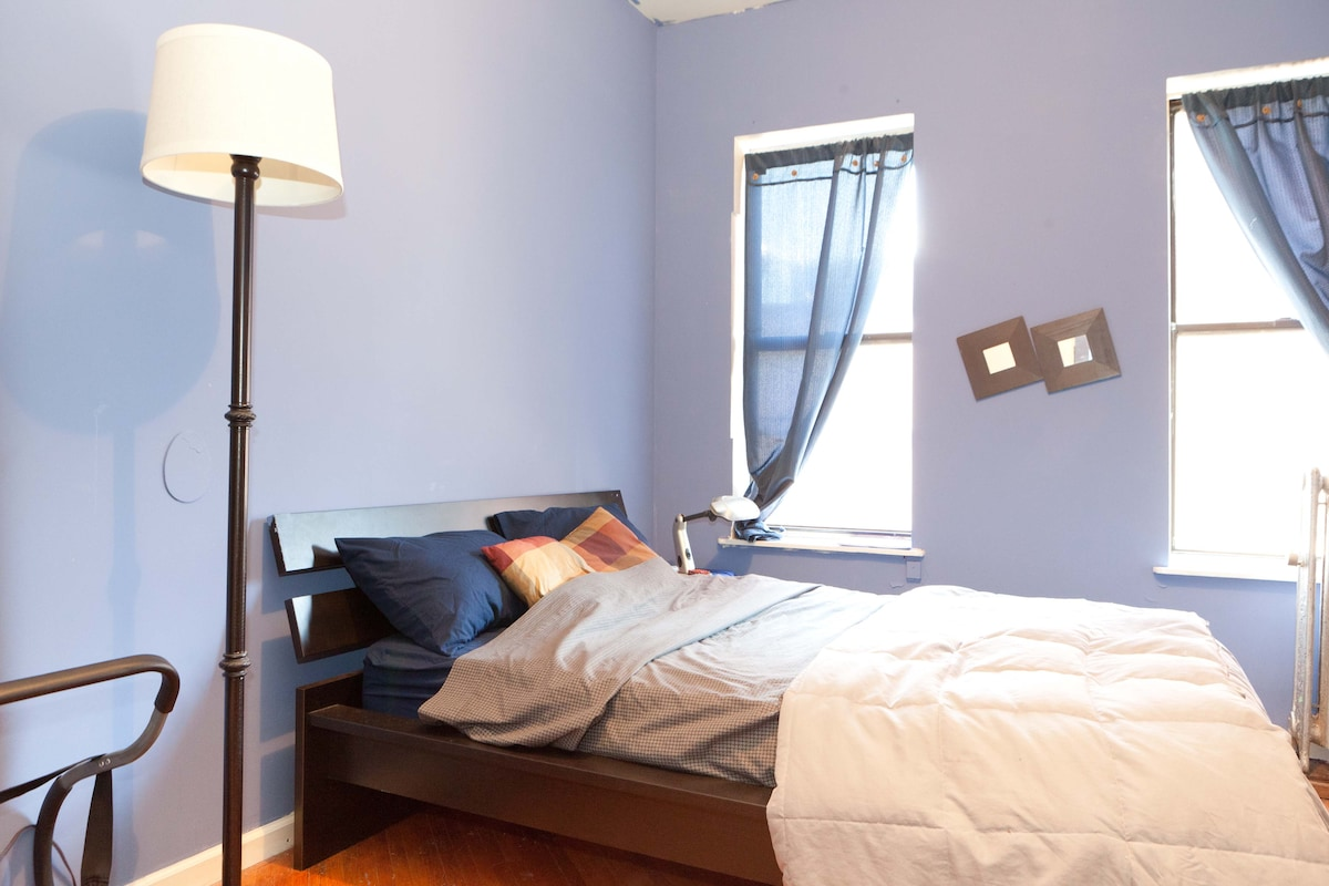 1BR in charming 2BR, Clinton Hill