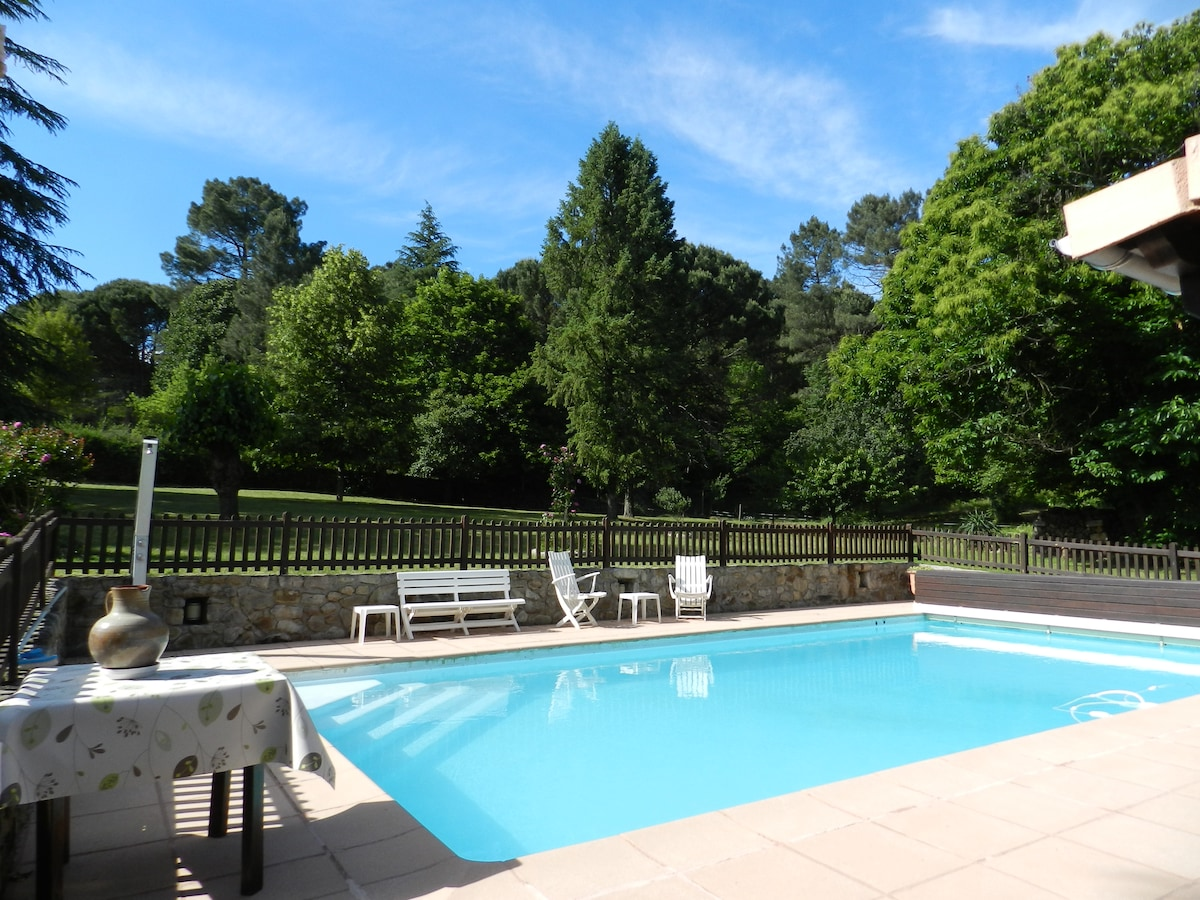 Nice flat in Cevennes for 4 p