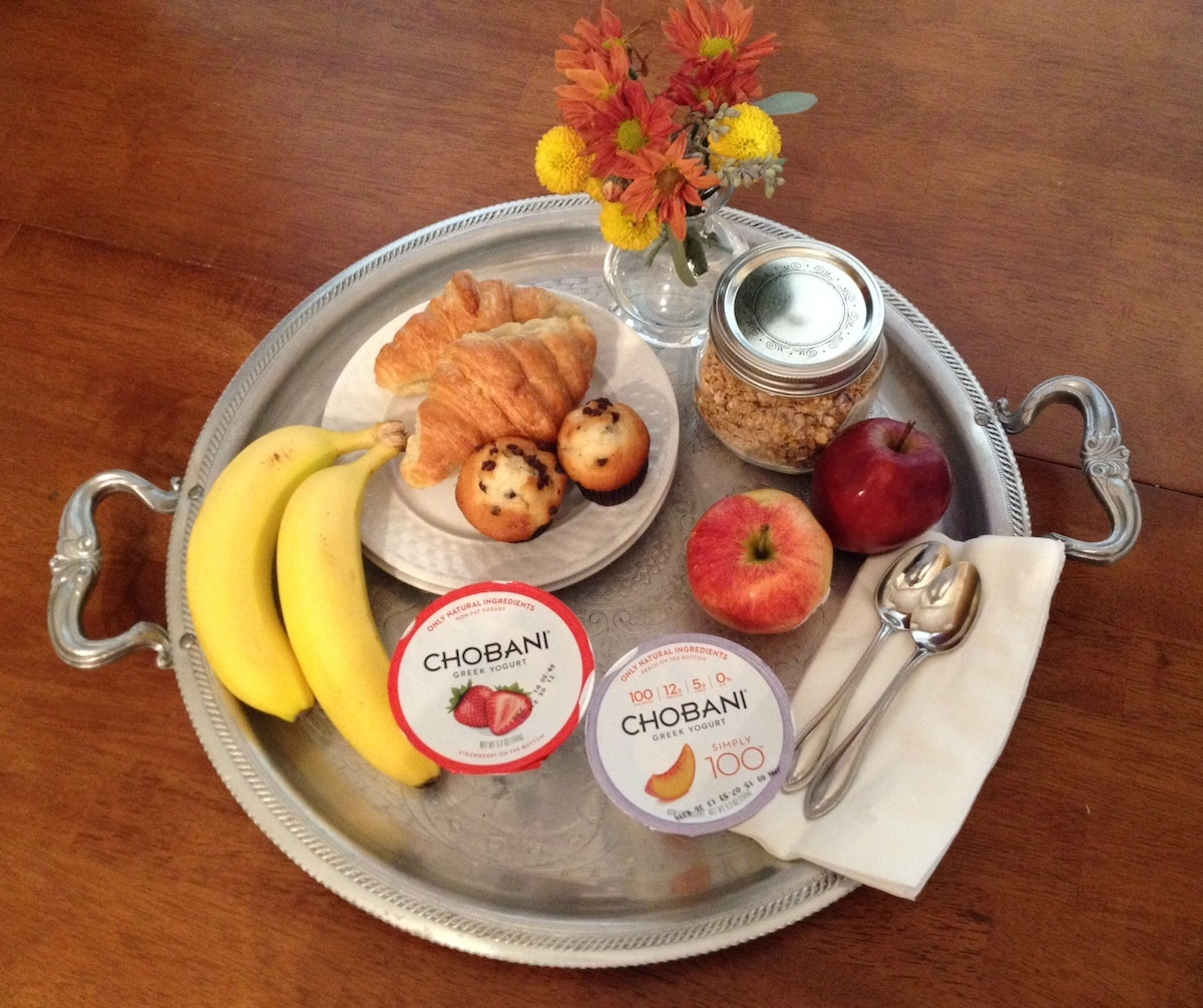 Complimentary breakfast and coffee every day!