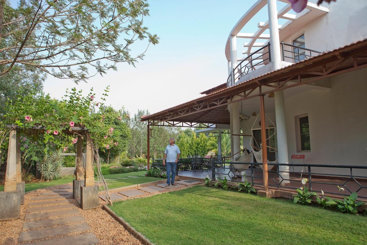 Farm House- Indian Village Settting