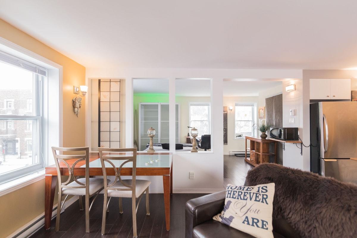 APART-HOTEL STUDIO BERRI-UQAM /WIFI