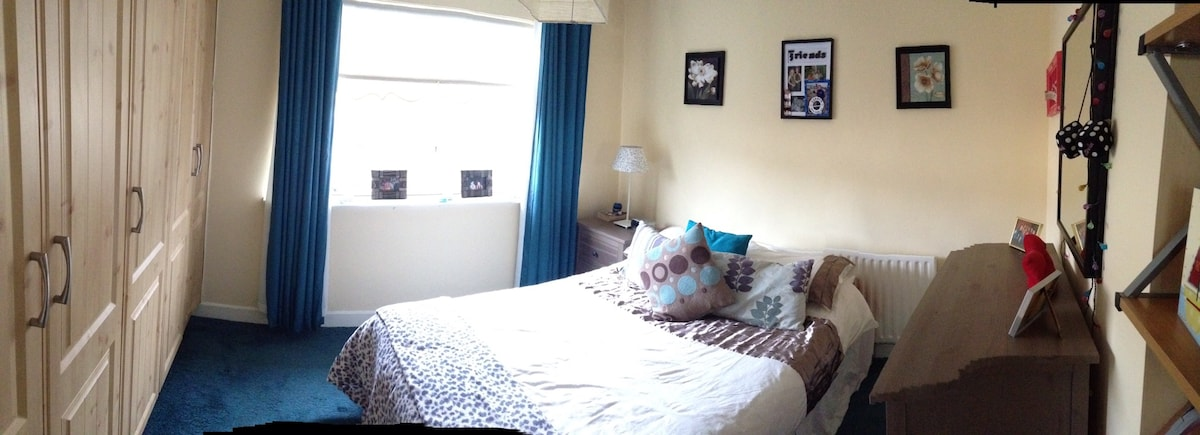 Warm sunny bedroom