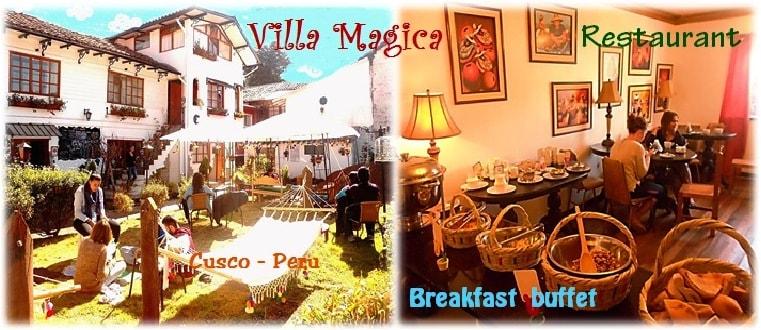 Villa Mágica hostel-Buffet breakfas