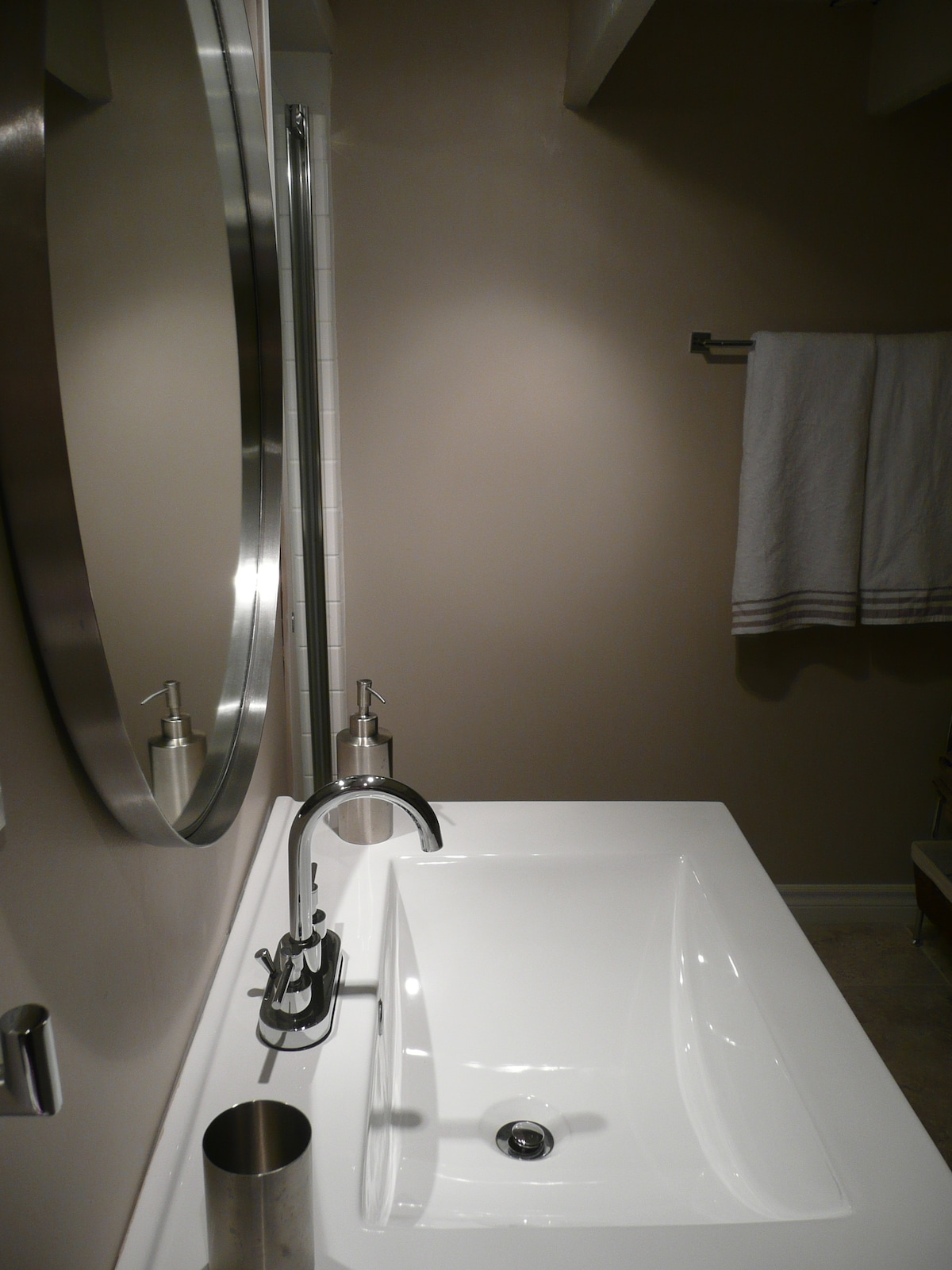 Brand new private modern bathroom