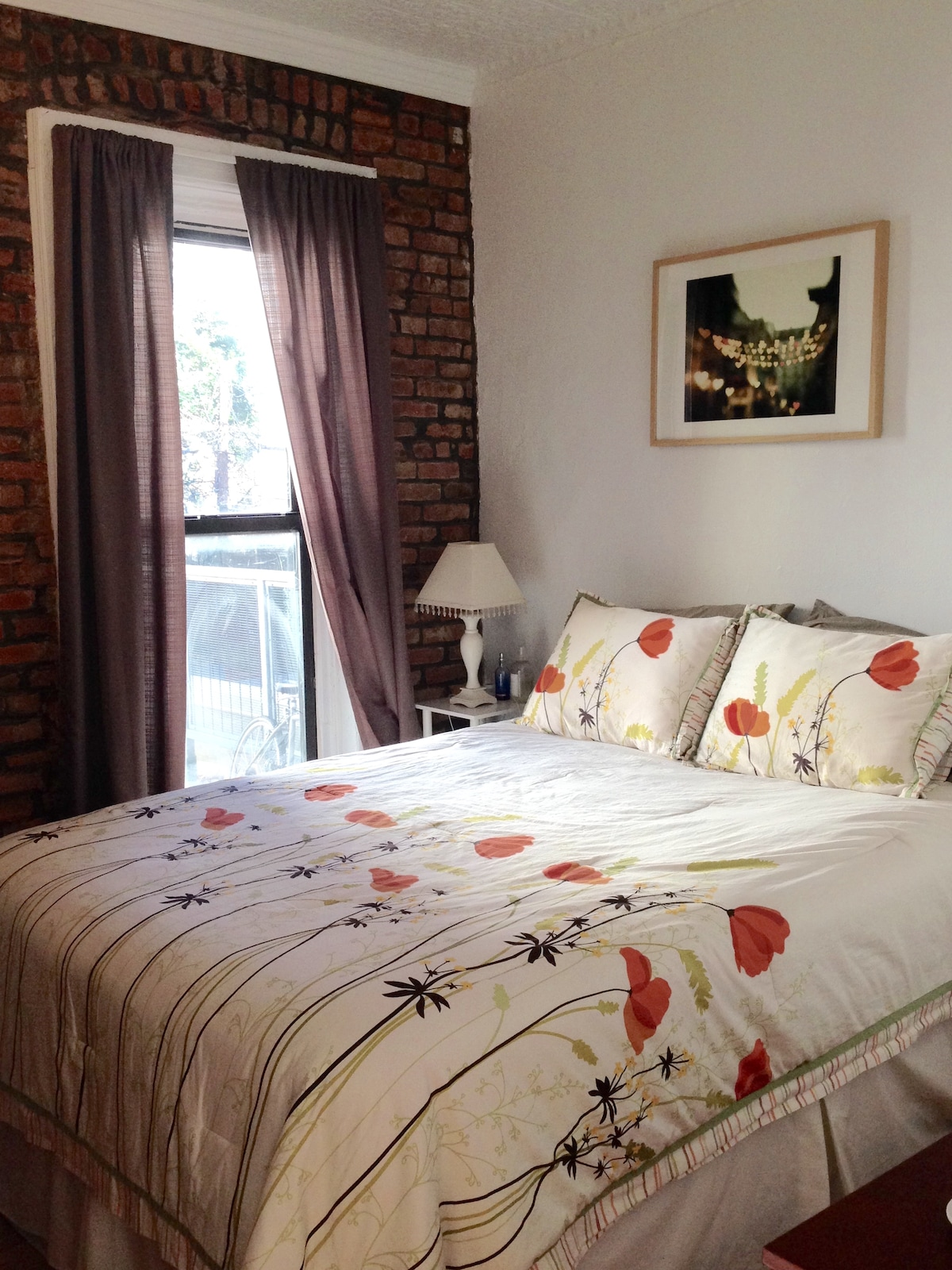 1-bedroom in charming Park Slope