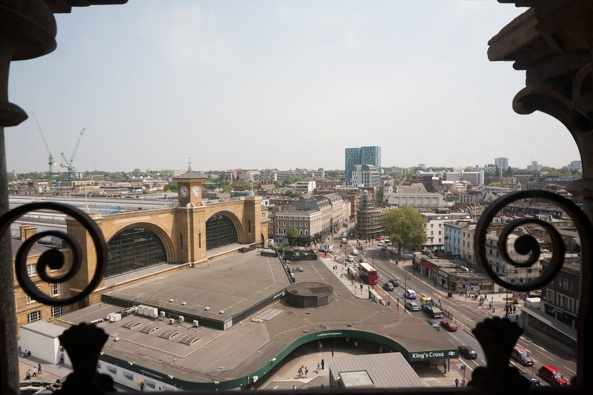 View of Kings Cross Station