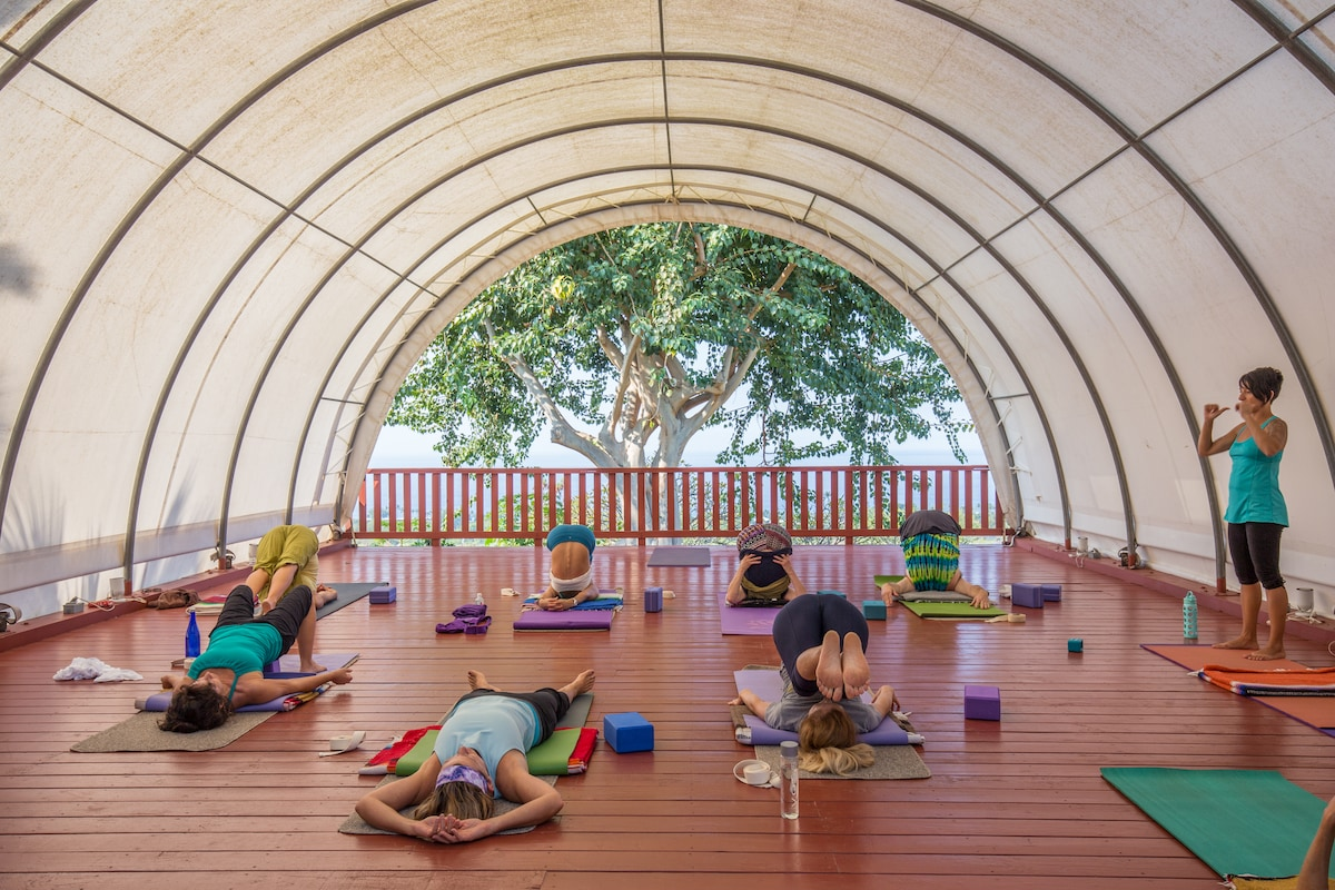 Yoga Retreat Cabana Ocean Panorama
