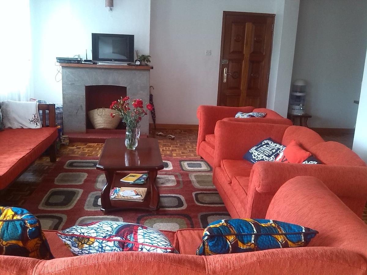 Pretty flat Share Kileleshwa
