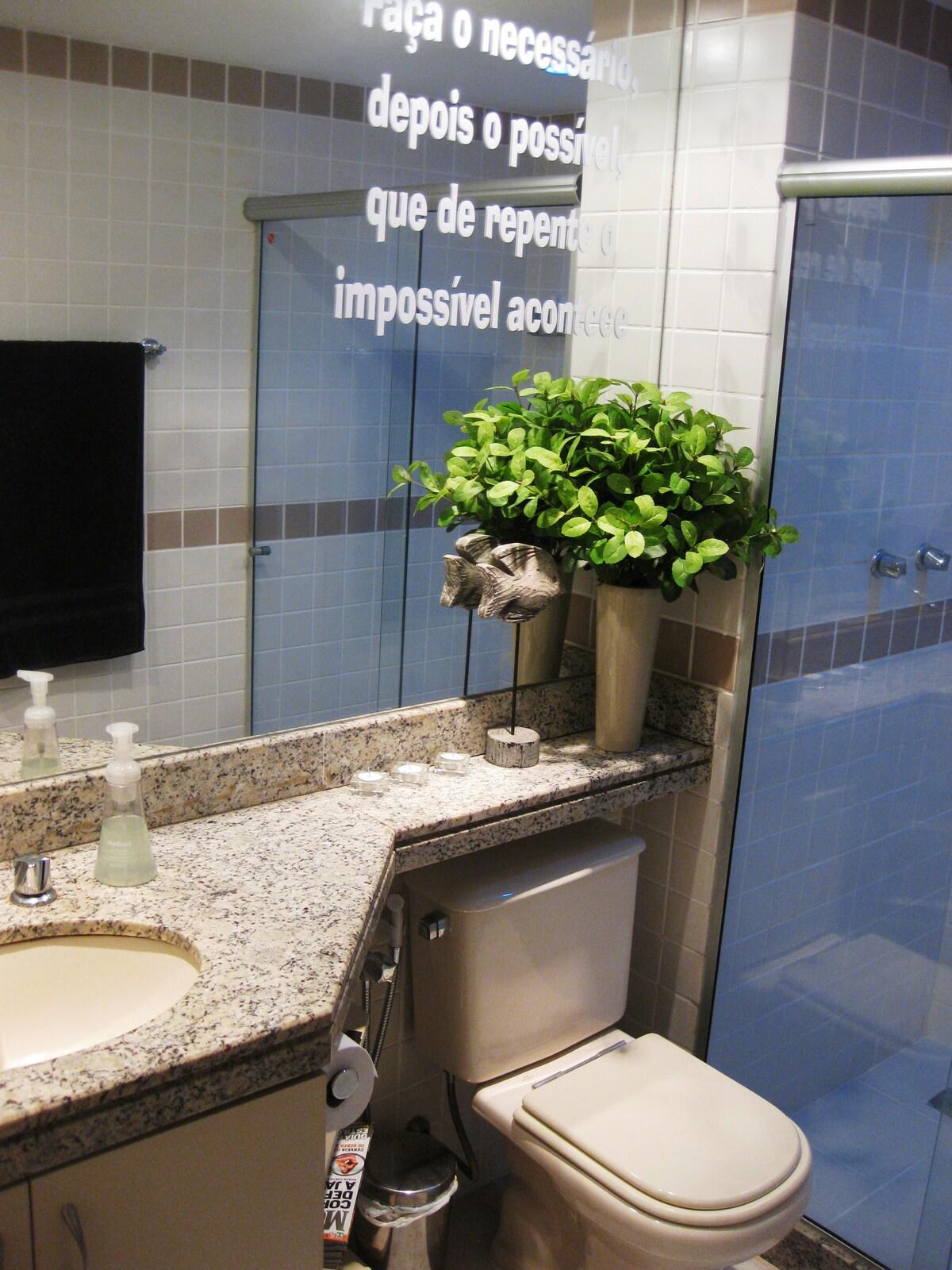 Private bathroom!