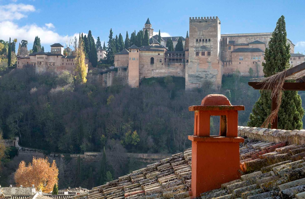BEAUTIFUL TERRACE VIEW TO ALHAMBRA