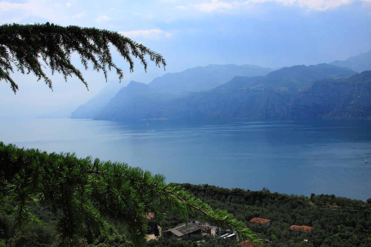 Bellissima vista Lago di Garda 3pax
