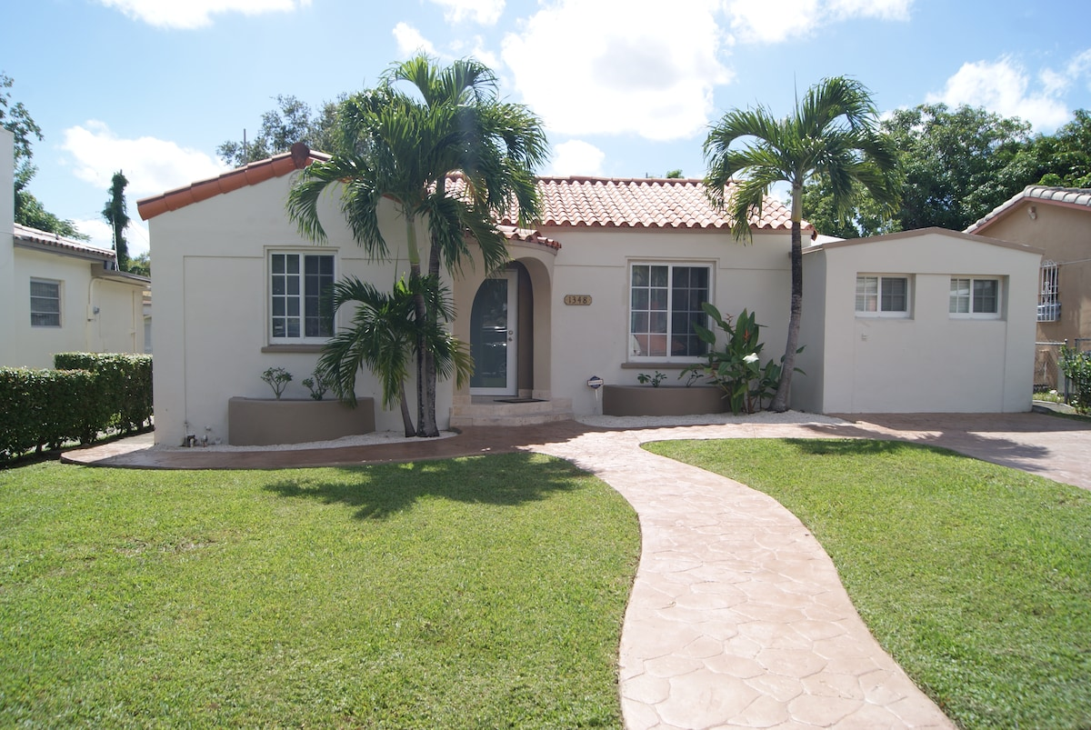 Large house just min. from Brickell
