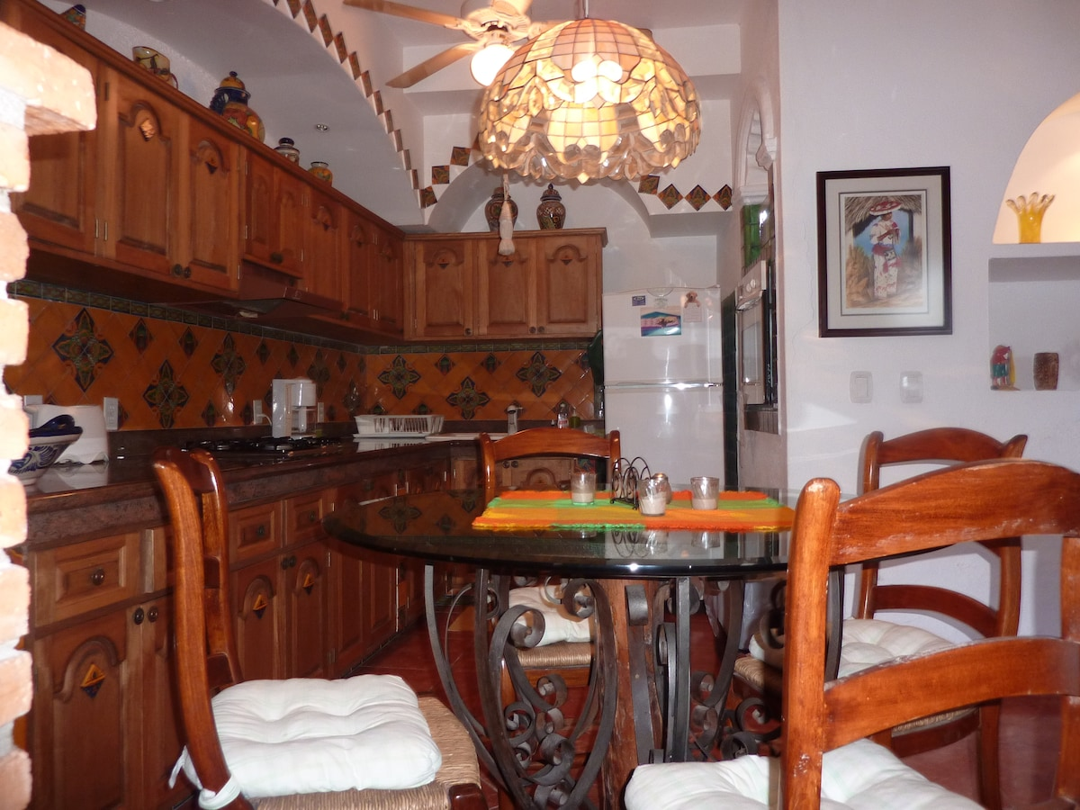 This   is  the  kitchen/dining  area.