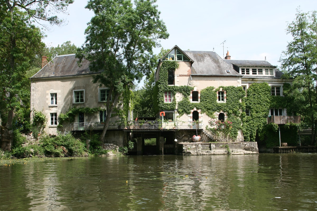 the mill, view from the river
