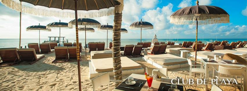 Complimentary acces to beach club