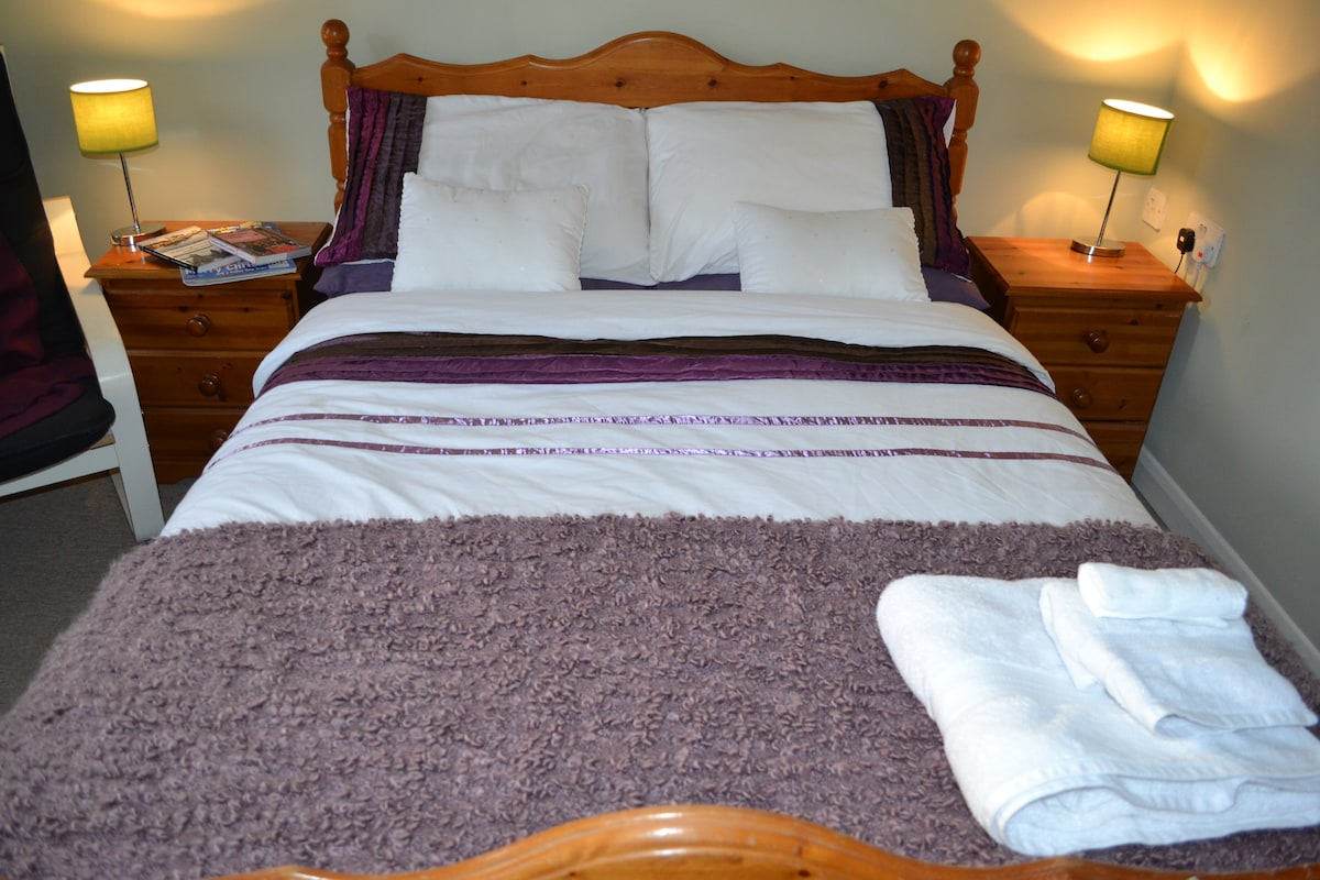 Comfy double room, private bathroom