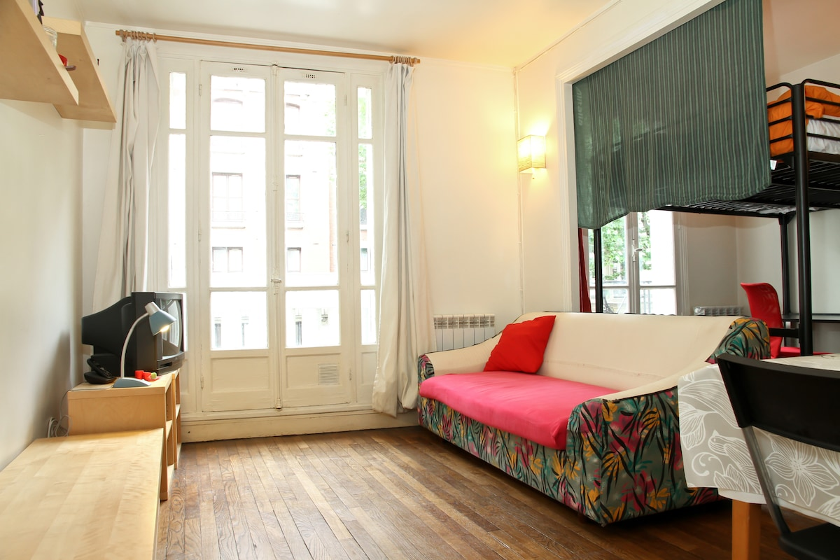 Cosy&Practical Flat Paris-Clichy
