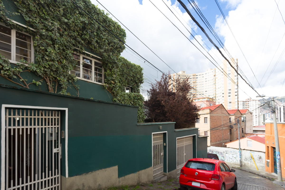 The Green Apartment!
