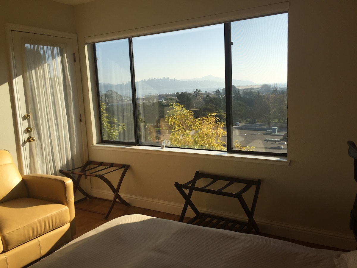 View from your guest room