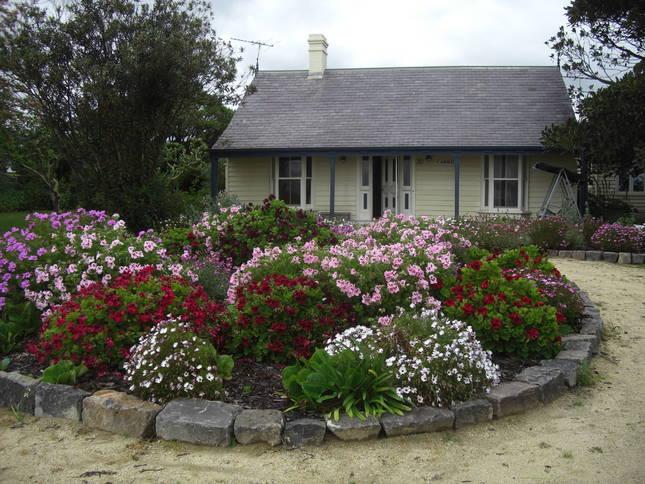 Beach-front Cottages & Large Garden