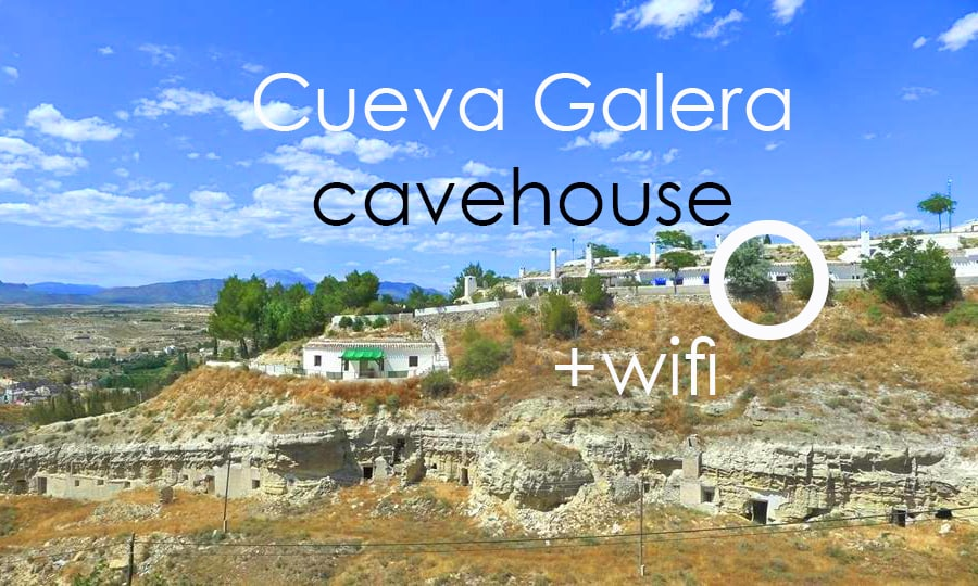 Cueva Galera cavehouse WIFI, views