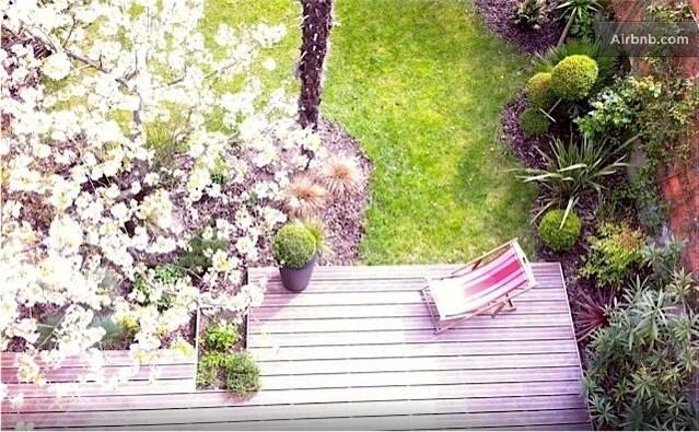 Studio sur jardin cosy / studio on a lovely garden