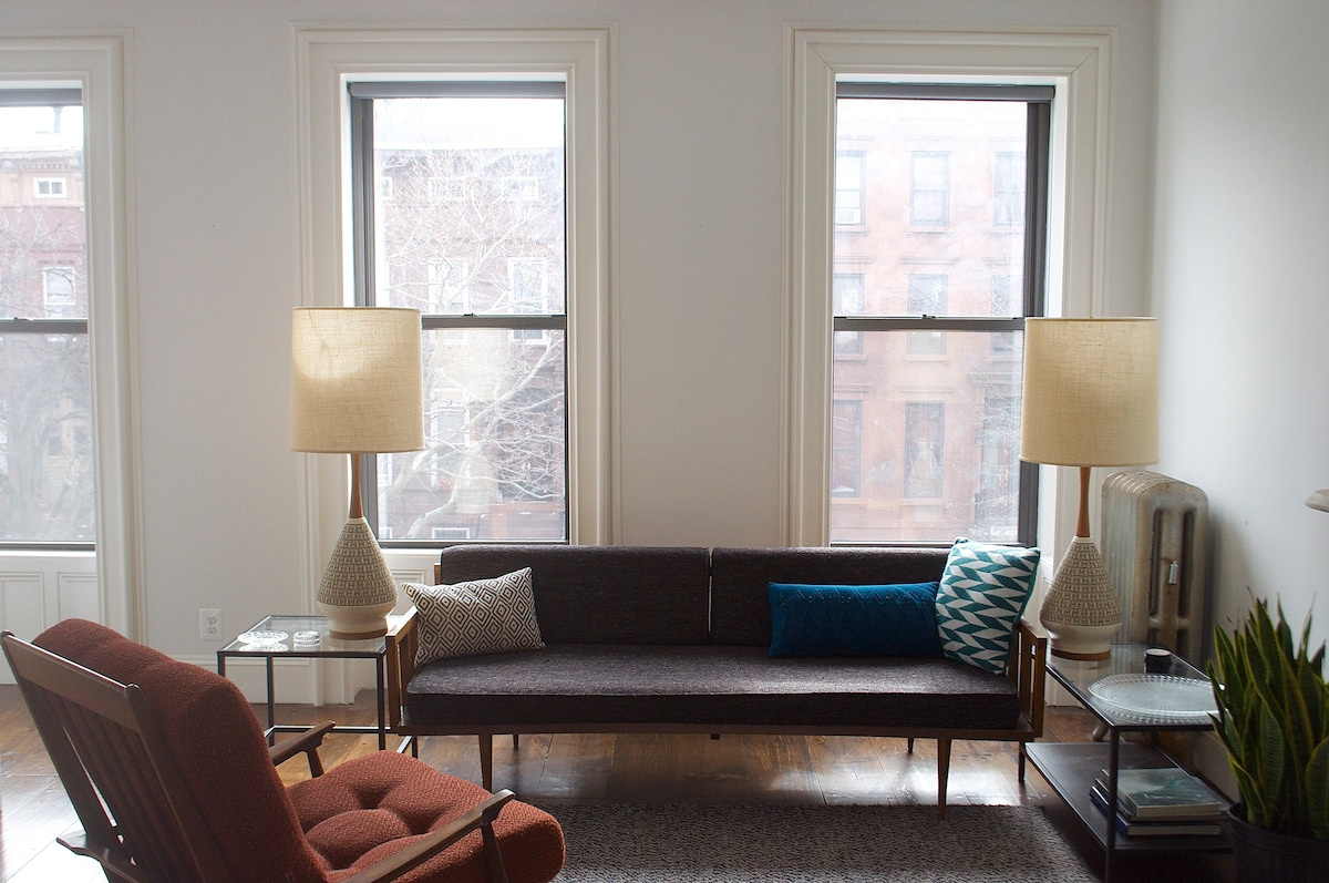 Lovely 1 BR in Historic Brownstone