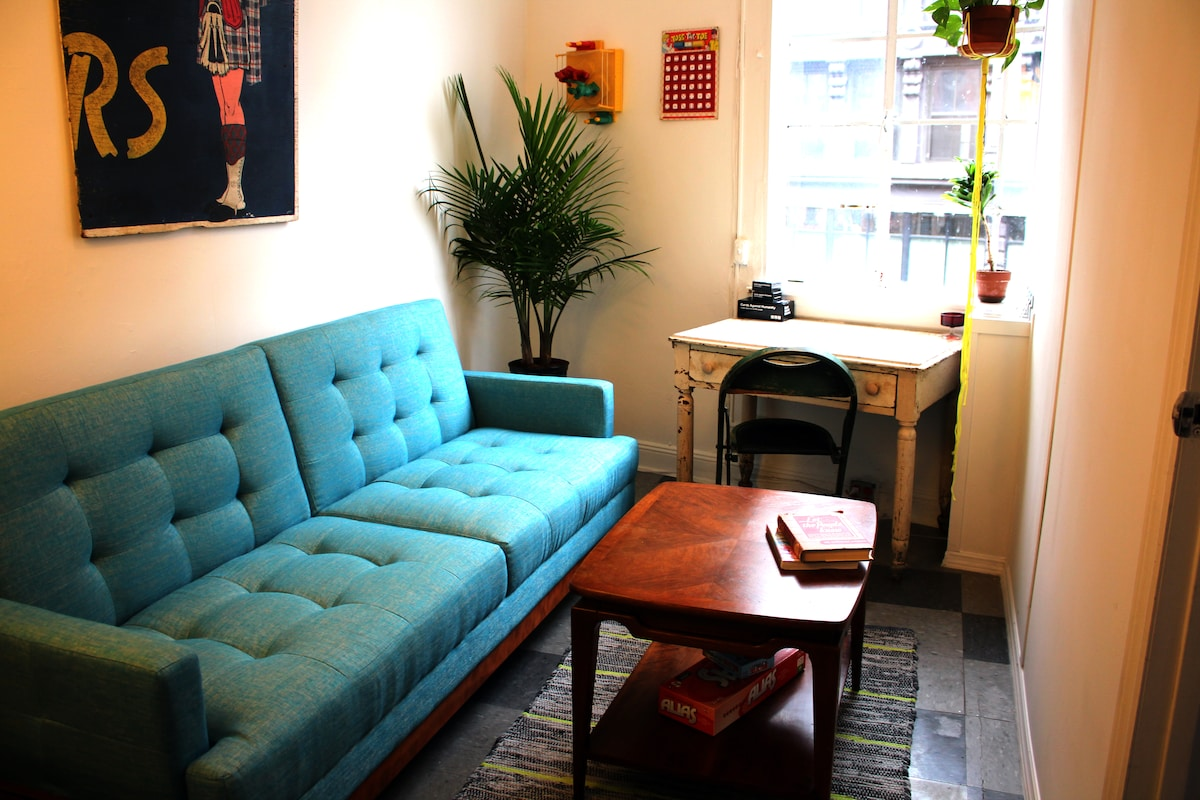 Stay in hip Williamsburg apartment!