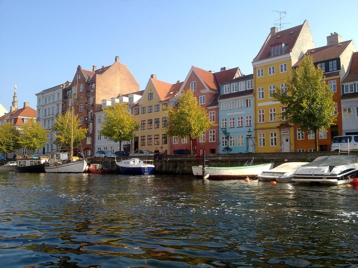 waterview over Christianshavn kanal