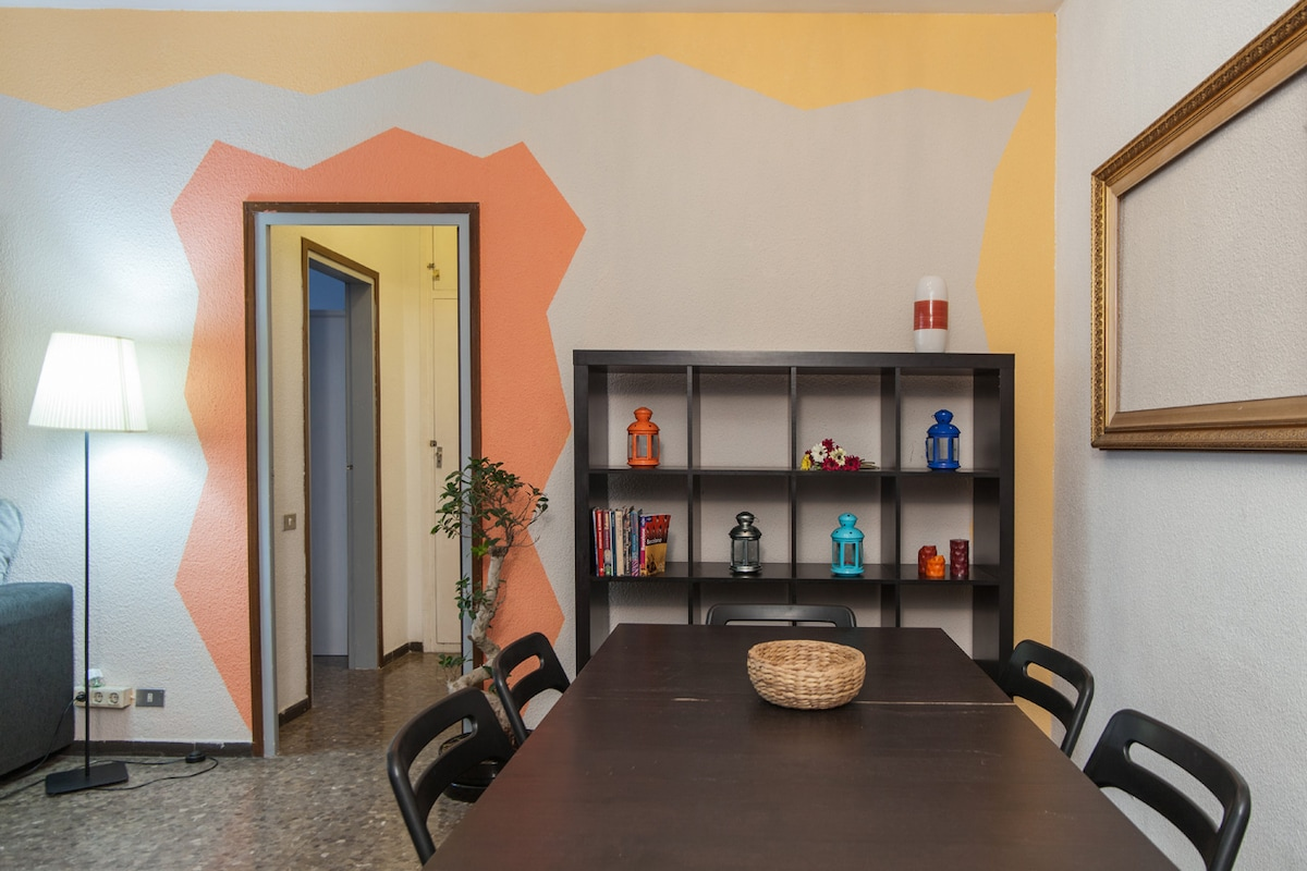 Colourful & Central Apartment -WIFI