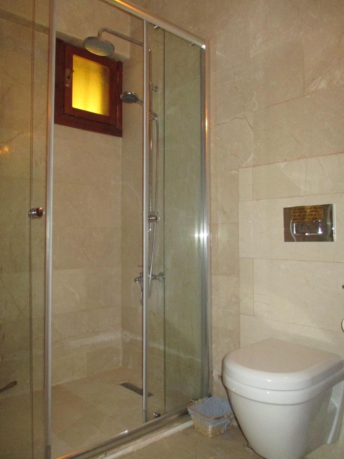 Brand new shower :)