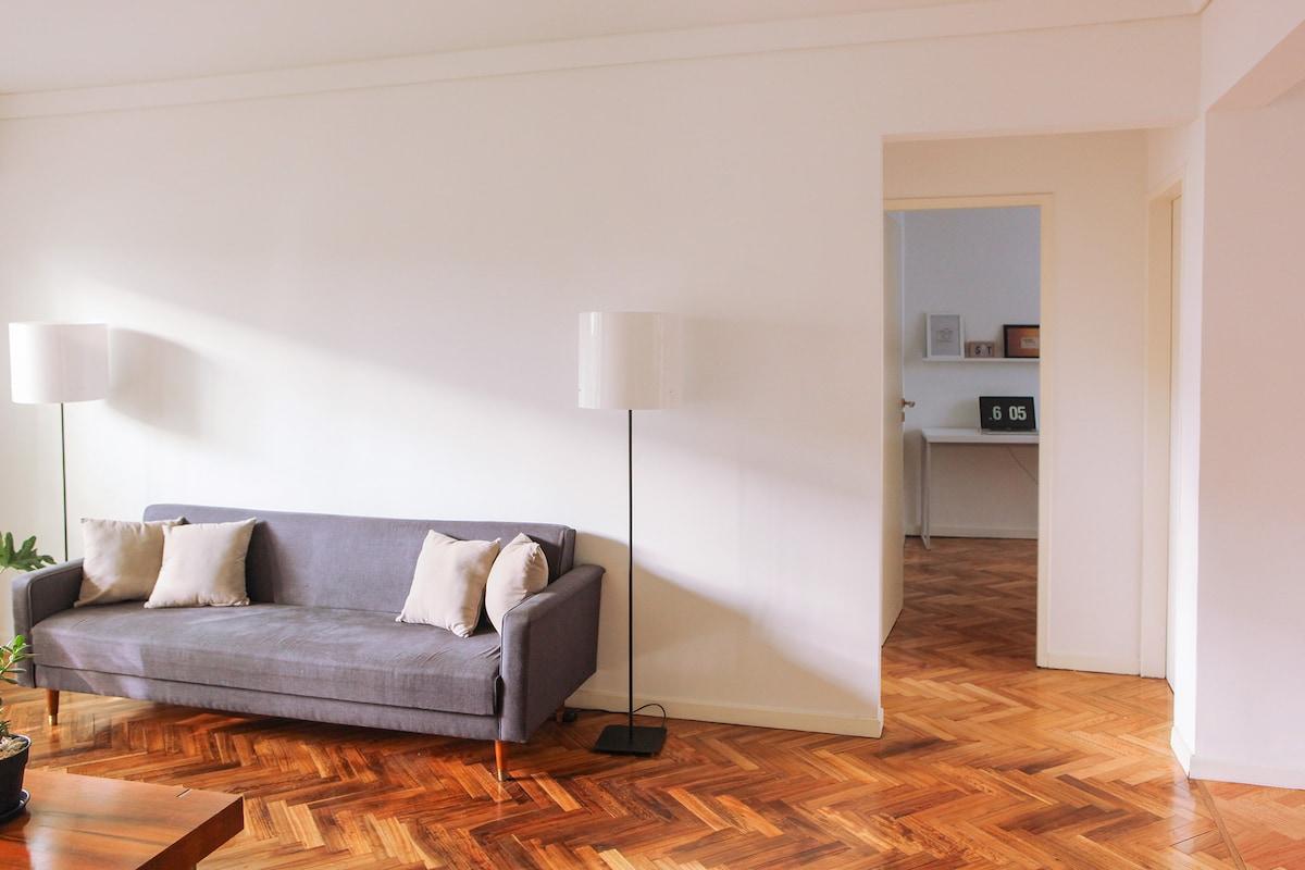 Living room + Secondary bedroom