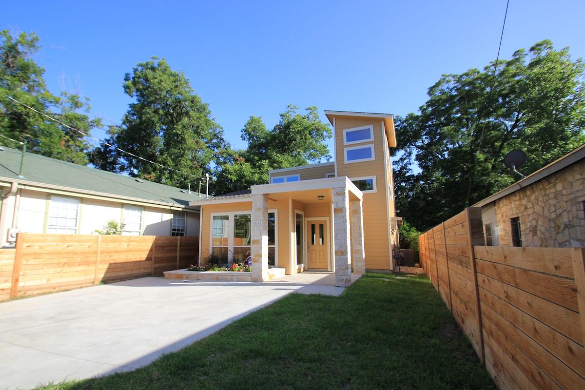 Modern East Austin Bungalow