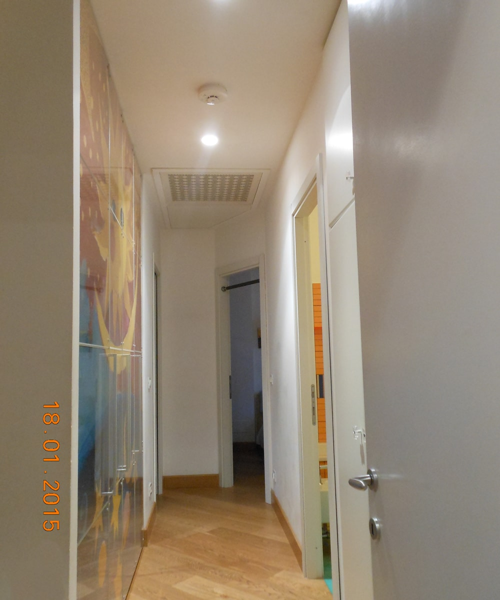 Corridor from living room to your bedroom