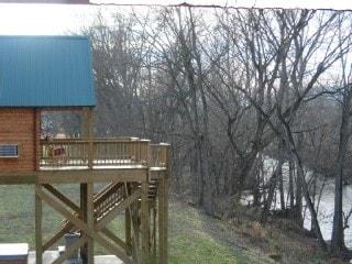 Gander Island Cabins,River front