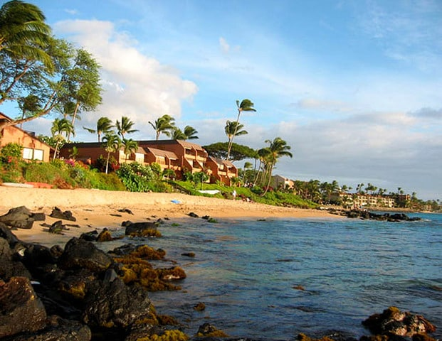 The Kuleana and its secluded beach.