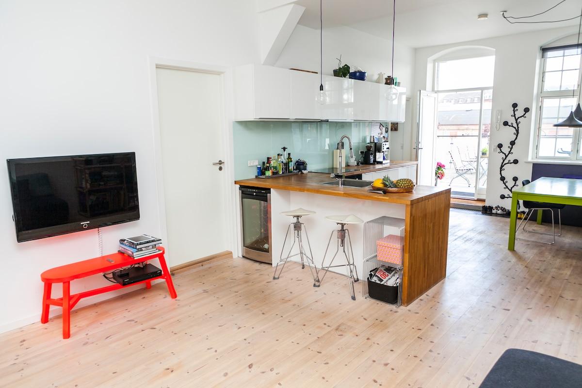 Stylish apartment, vibrant Nørrebro