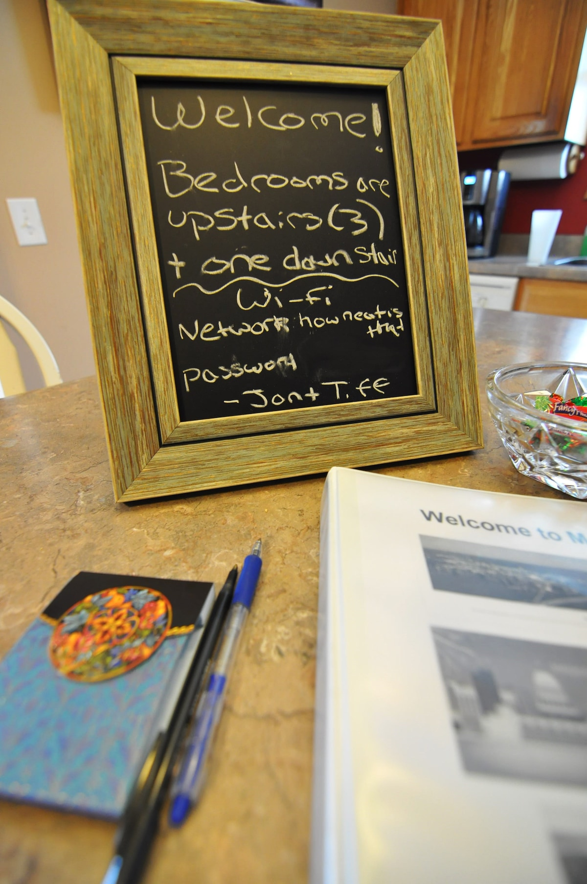 WELCOME!  Guest guidebook and local info.  Also be sure to check out the provided online guidebook!